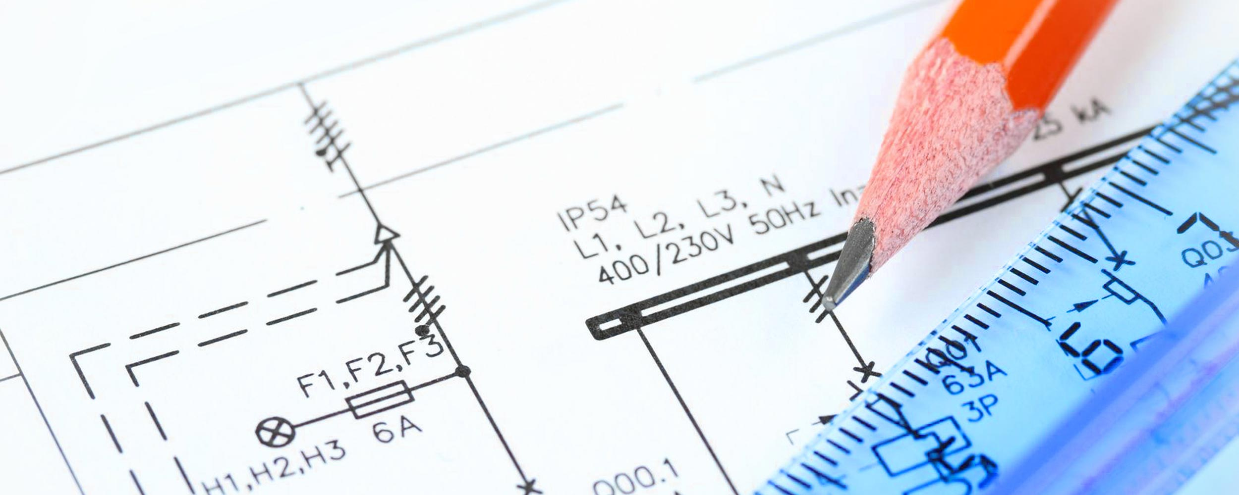 Electrical plan drawing